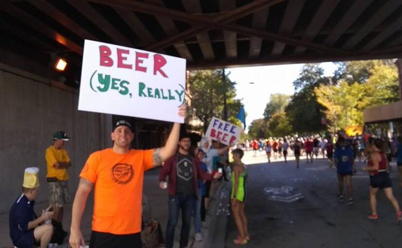 This Sunday: Chicago Marathon Beer Stop